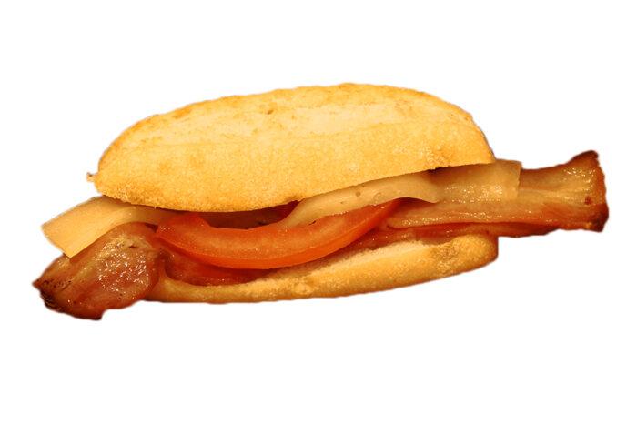Ramoncito Bacon con queso- La Ramona