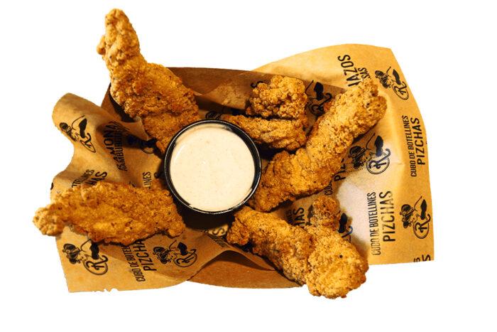 complemento de fingers de pollo con salsa a elegir - La Ramona