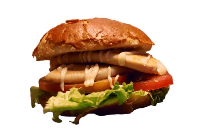 Hamburguesa de pollo- La Ramona
