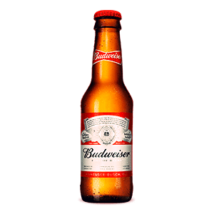 Tercio Budweiser - La Ramona Cervezas y Tapas